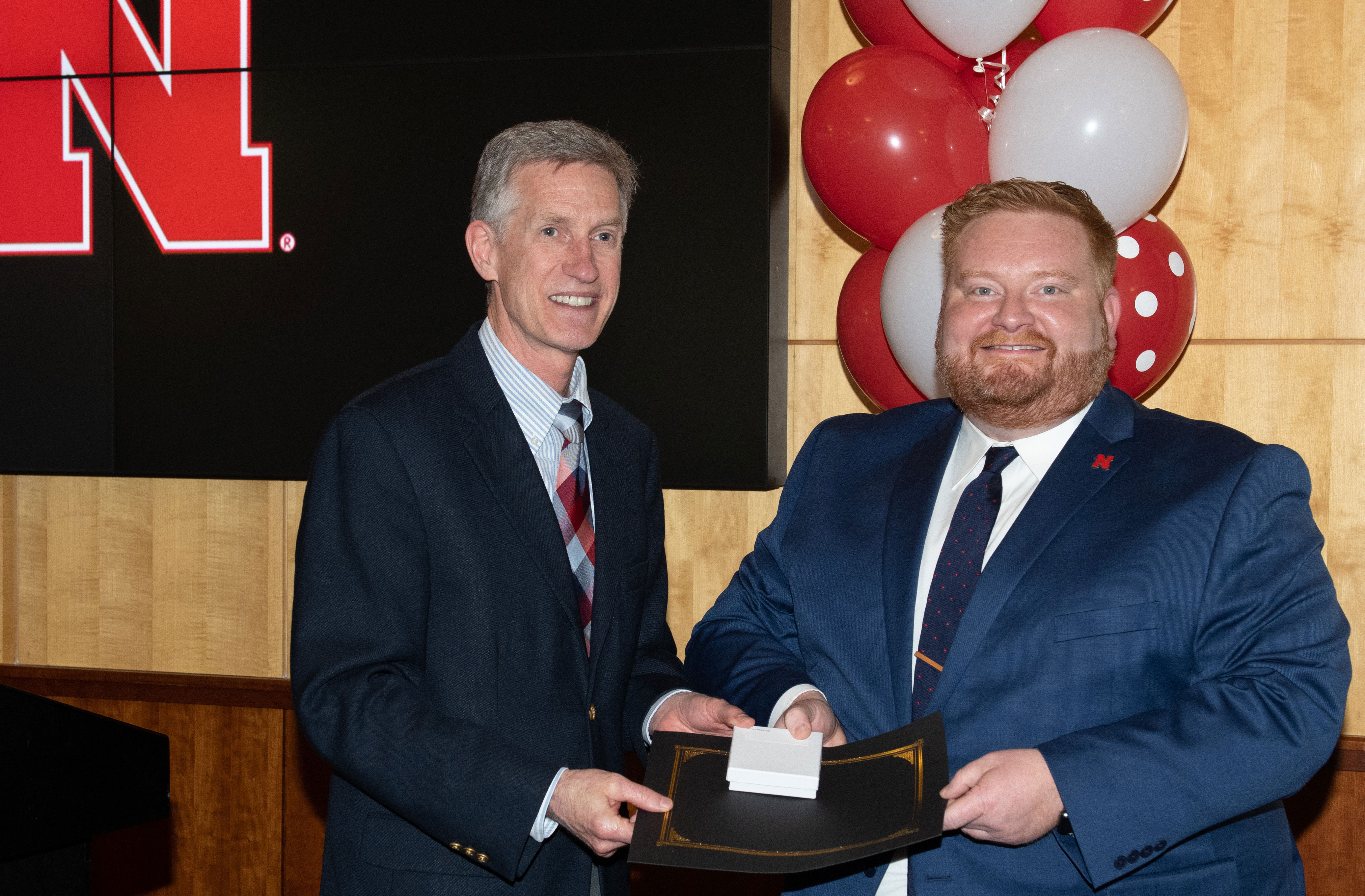 Jason Headrick Receives Outstanding Graduate Studies Award