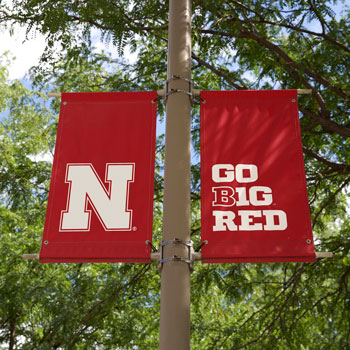 Go big red banner